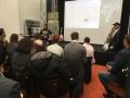 Michael Sauer präsentiert die Onlineentwicklungen des Musikfachhändlers
