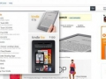 Kategorienleiste Amazon 2012