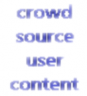 crowdsourcing user generated content
