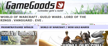gamegoods.de gold wow world of warcraft