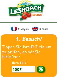 leShop online lebensmittel kaufen supermarkt internet
