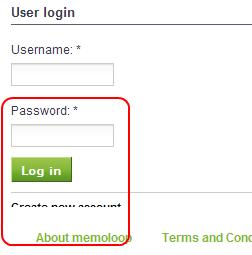 memoloop register fehler neu deutschland netzwerk network