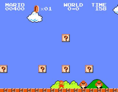 Super Mario in Javascript