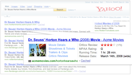 SearchMonkey Screenshot