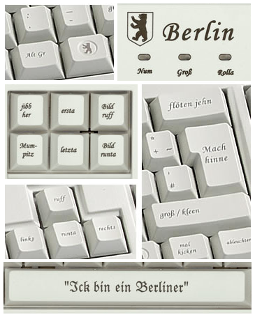 Dialekt Tastatur