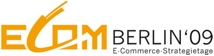 Logo der ECOM Berlin E-Commerce Strategie Konferenz