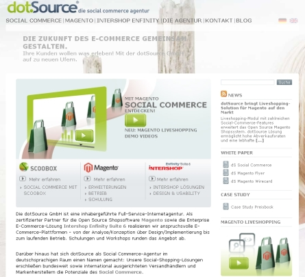 dotSource Magento Liveshopping-Solution