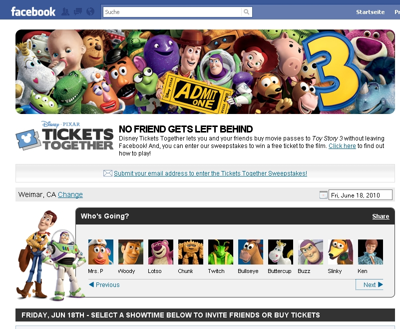 Disney Tickets Together