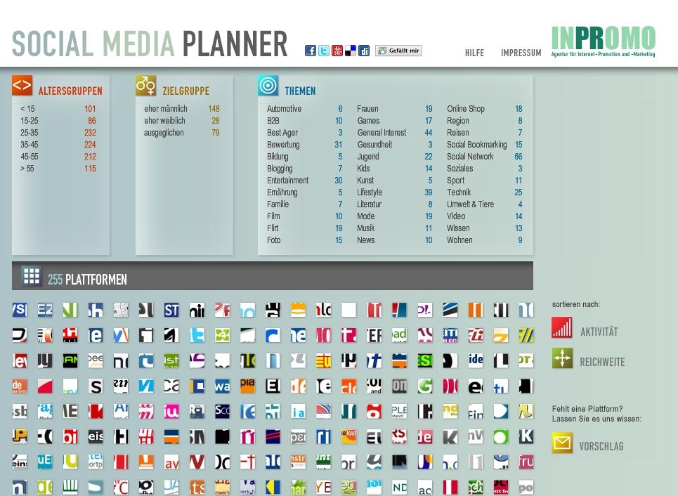 Socialmediaplaner