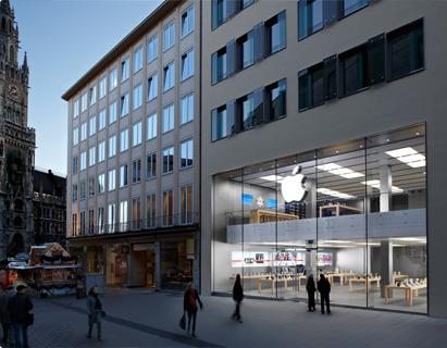 Apple Stores kommen nach Deutschland