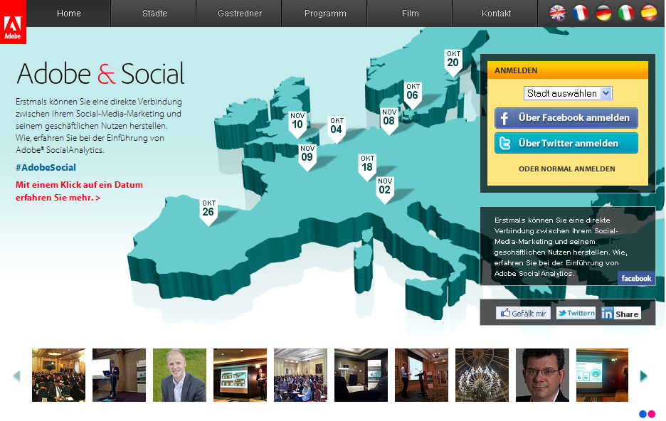 AdobeSocial Adobe Social Screenshot