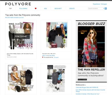 Polyvore mit 14 Mio. $ Finanzierung endgültig auf dem Weg zum Fashionvorreiter?