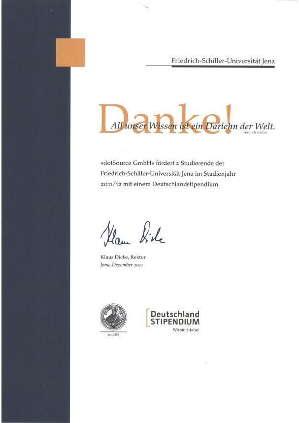 Deutschlanstipendium