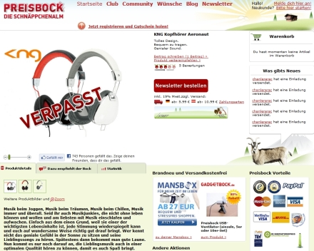 Preisbock 2012