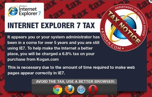 Internet Explorer Steuer