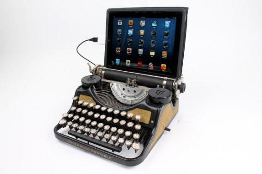 Schreibmaschine mit USB Anschluss