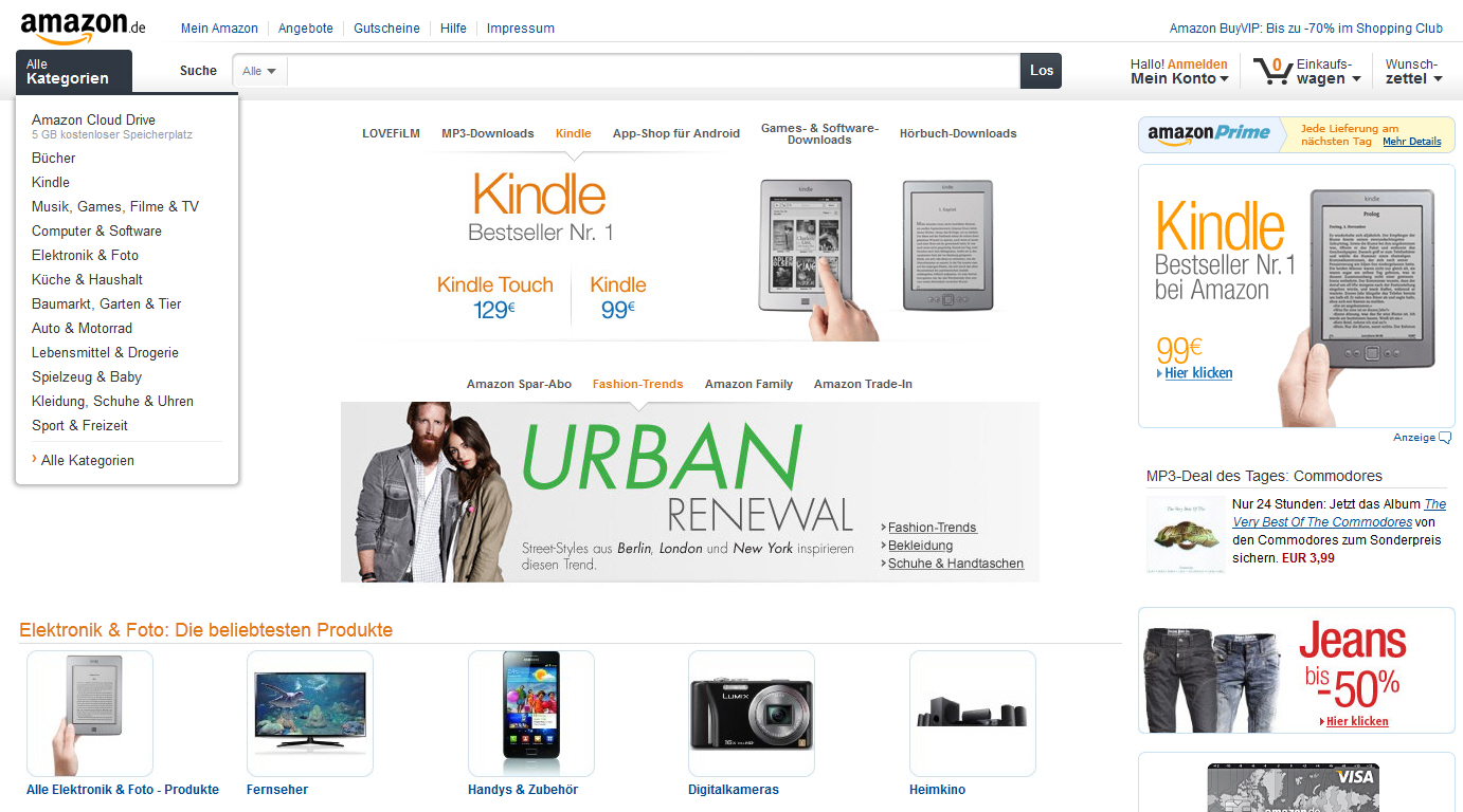 Amazon Relaunch 2012