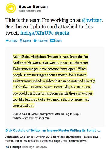 Expanded Tweets Ideen für Nutzungsmöglichkeiten