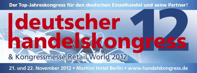 Deutscher Handelskongress 2012 Banner