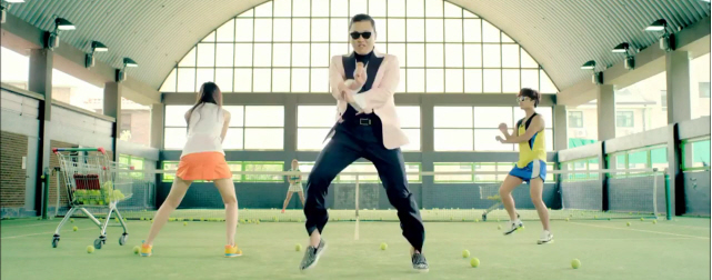 Gangnam Style Video Screenshot