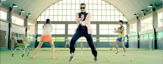 Gangnam Style Video Screenshot