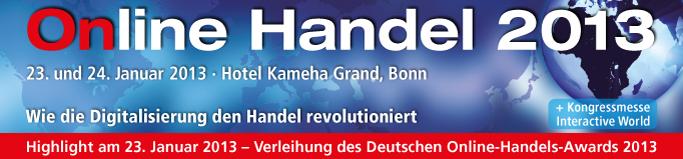 Online Handel 2013