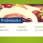 Reminder: Nächste Woche startet unser E-Commerce Frühstück in München