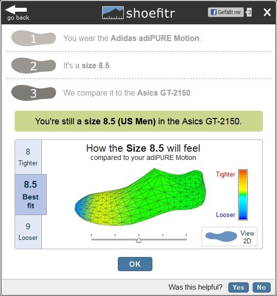 Shoefitr Screenshot