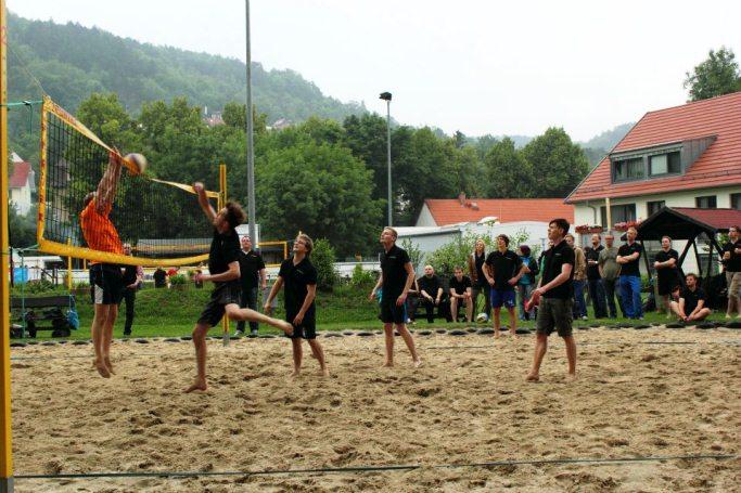 dotSource beim Sportfest der Towerbyte auf dem Westsportplatz Jena