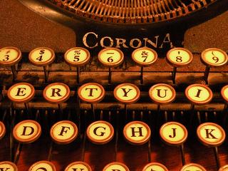 Schreibmaschine Creative Commons