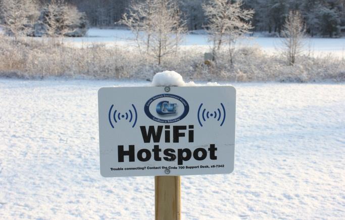 Mitten im Nirgendwo: Ein WLAN Hotspot