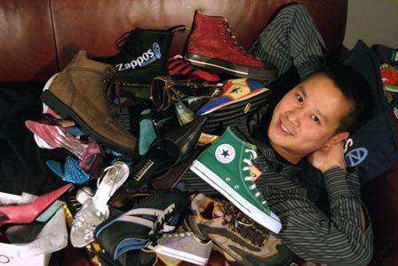 Tony Hsieh, CEO von Zappos in seinem Element