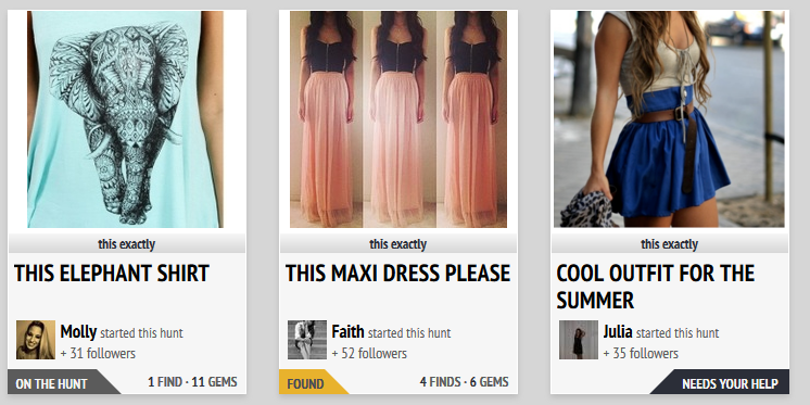 The Hunt Fashion Community Screenshot