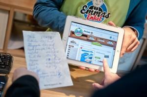 Emmas Enkel iPad Zettel