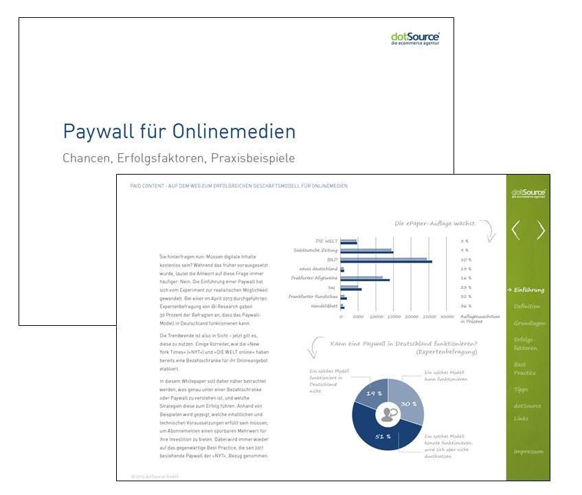 Kostenloses Whitepaper der dotSource GmbH zur Bezahlschranke
