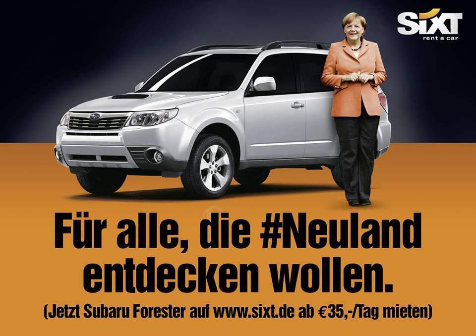 Angela Merkel entdeckt Neuland - wie Marken reagieren