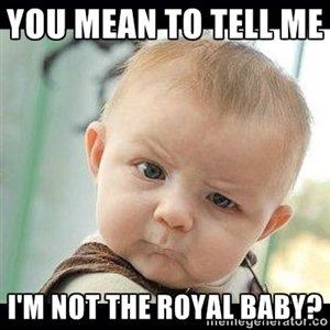 Für die Eltern ist natürlich jedes Baby ein kleiner Prinz