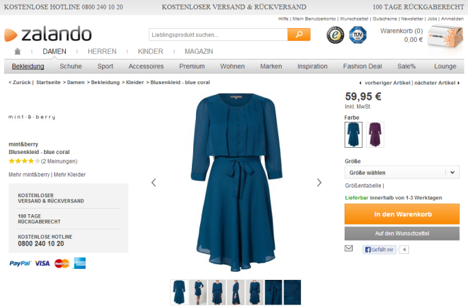 Modehandel: Zalando setzt die Maßstäbe [5 Lesetipps]