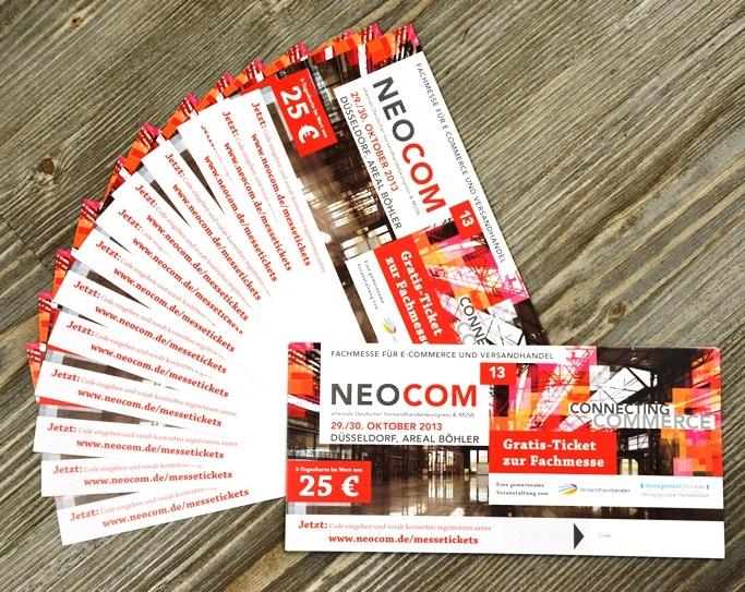 Wir verlosen Tickets für die NEOCOM 2013