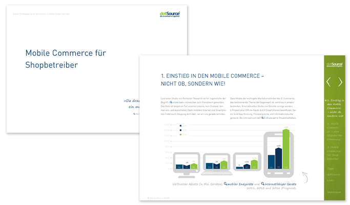 Neues Whitepaper: Mobile Commerce für Shopbetreiber