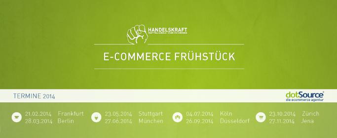 Rückblick auf das Handelskraft E-Commerce Frühstück 2013