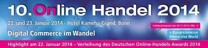 Online Handel 2014