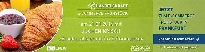 Handelskraft Frühstück 2014 in Frankfurt