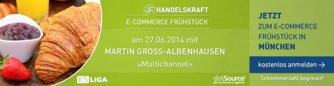 Handelskraft Frühstück 2014 in München