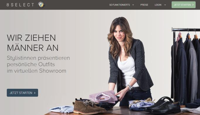 8select Homepage 2014