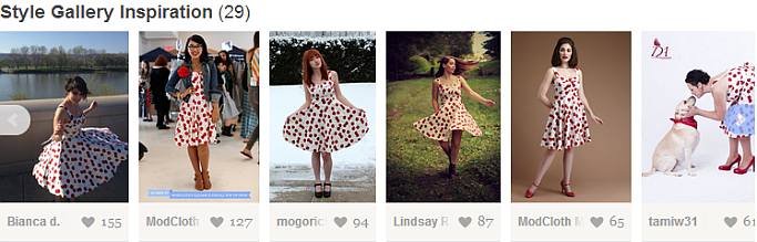 Style Inspiration bei Modcloth