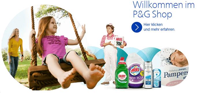 Procter & Gamble Onlineshop