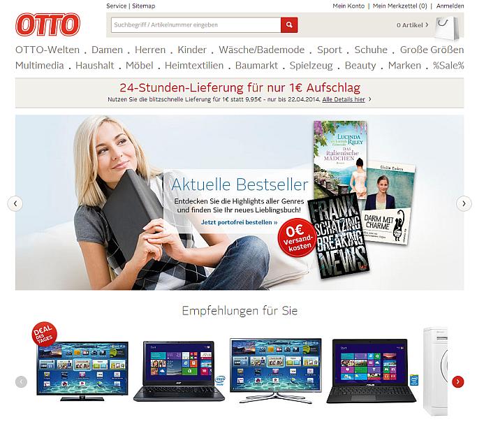 Otto.de Screen