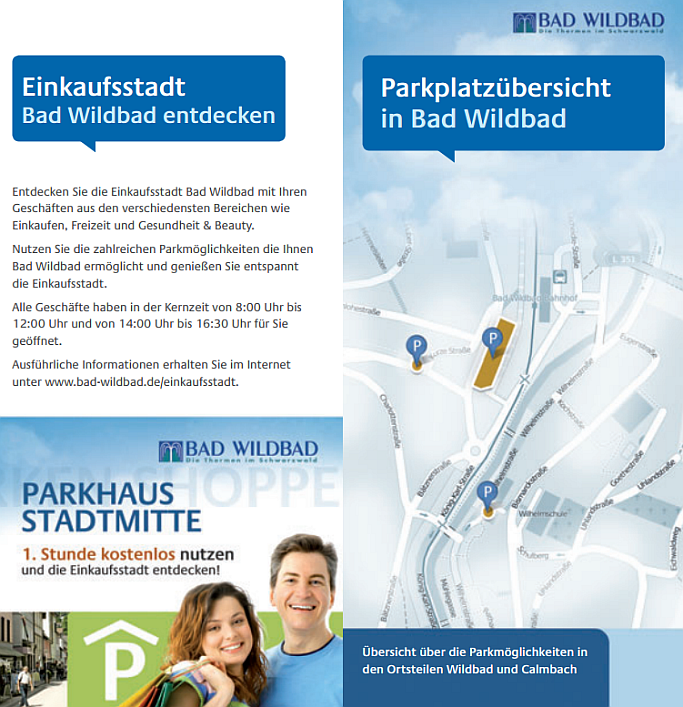 Parkbroschüre Bad Wildbad