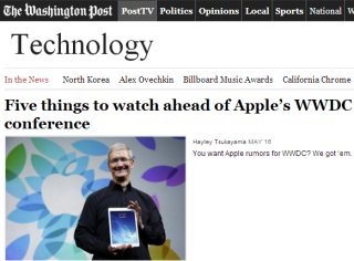 Content trifft Big Data: Washington Post wird zum Tech-Unternehmen [5 Lesetipps]